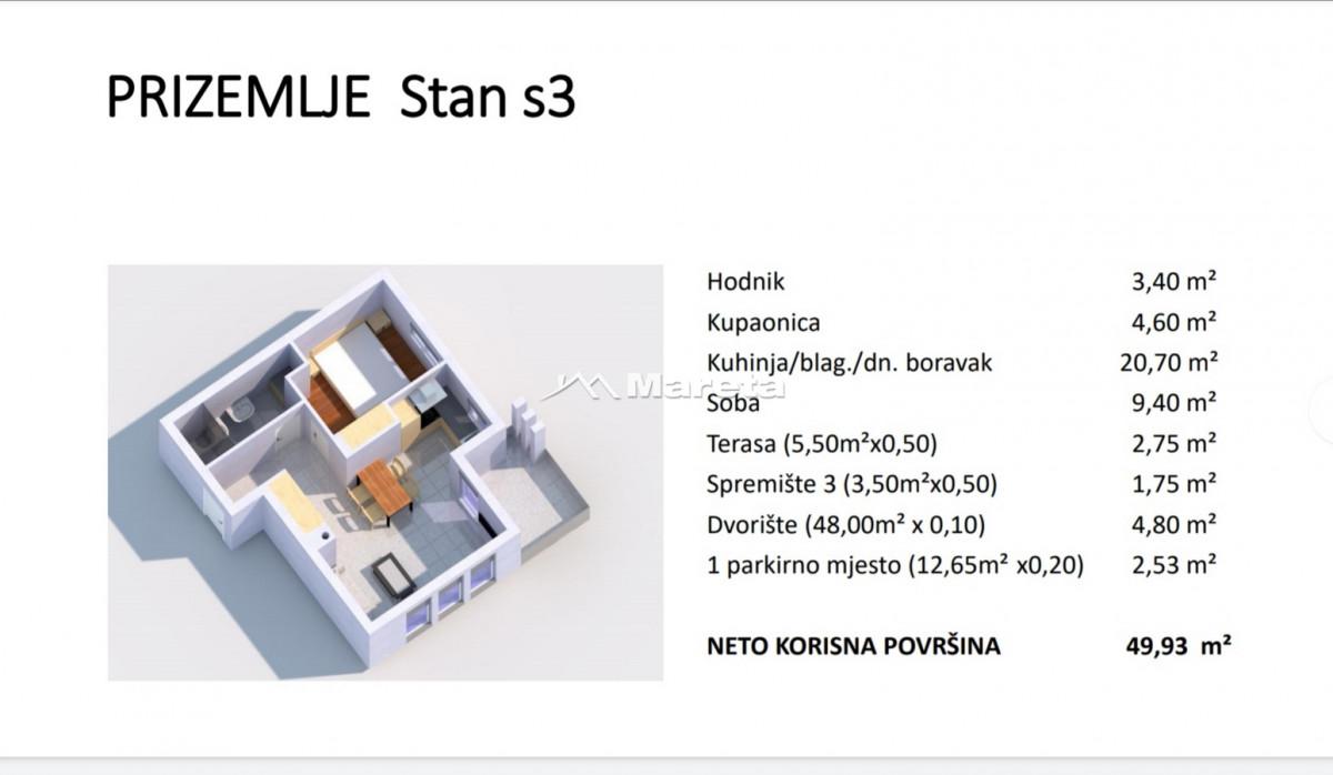 Stambena zgrada sa 8 stambenih jedinica u izgradnji!!