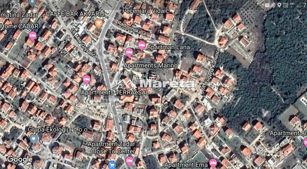 ZADAR - SKROČINI, građevinsko zemljište 455m2!!!