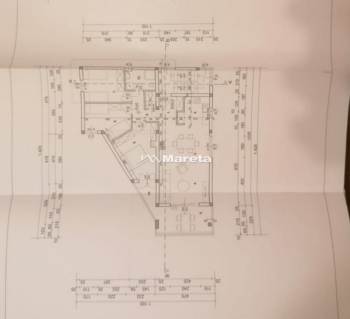 VIR - 3 SOBNI APARTMAN - NOVOGRADNJA- 118 m2