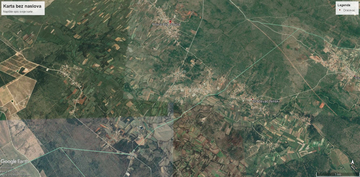 Zemljište, Poljica Brig, 11377 m2