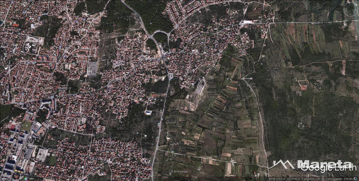 """SKROČINI,građevinsko zemljište 513 m2 """"SM"""" zona"""
